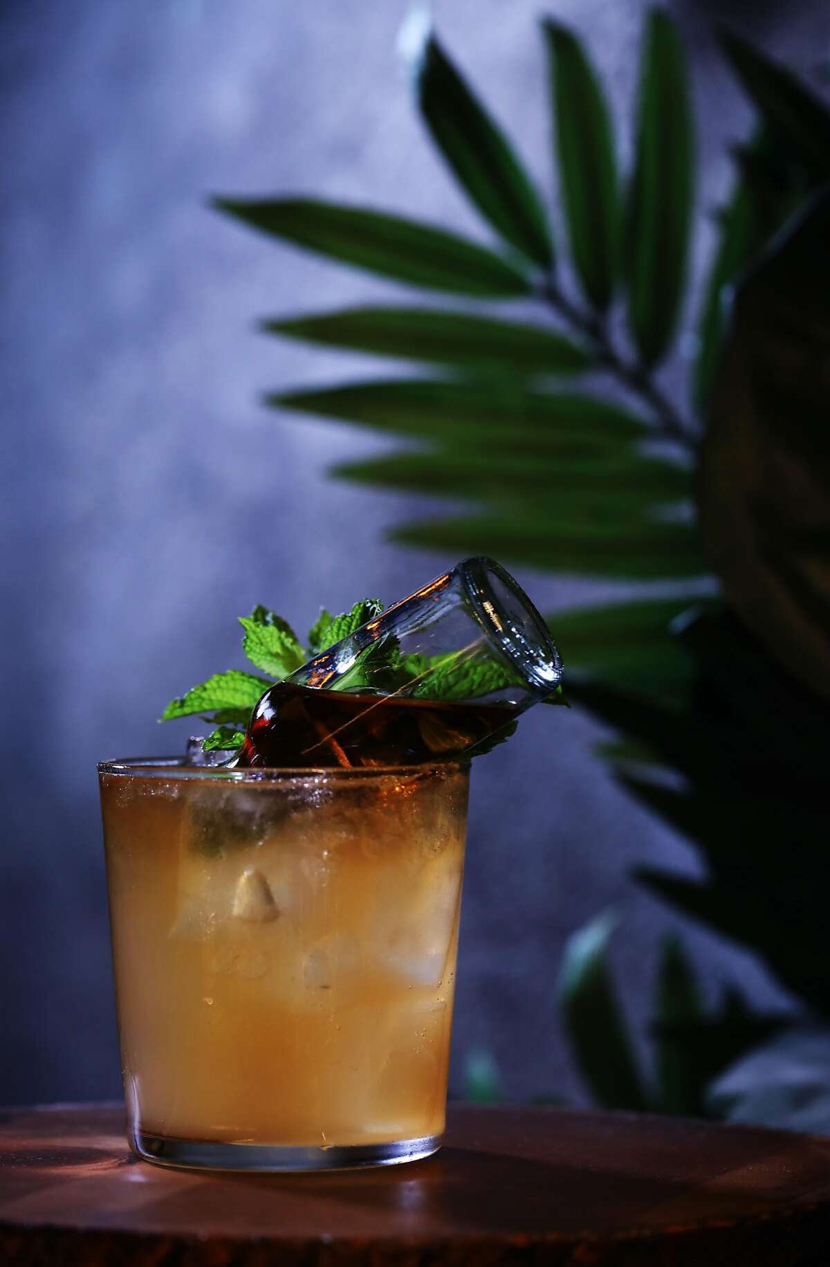 Jet Pilot is a cocktail at Last Rites, a new tiki bar in the Duboce/Castro neighborhood, located at 718 14th St., in San Francisco, Cali. on Tuesday, July 31, 2018.