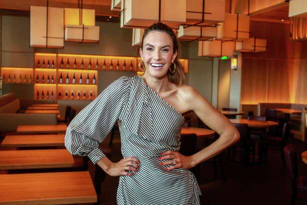 Elizabeth Chambers at Nobu during the Create and Cultivate Summit.
