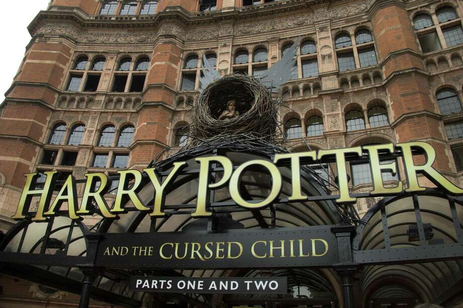 "FILE - This July 30, 2016 photo shows the Palace Theatre in central London which is showing a stage production of, ""Harry Potter and the Cursed Child."" The script ""Harry Potter and the Cursed Child Parts One and Two"" sold more than 2 million print copies in North America in its first two days of publication, Scholastic announced Wednesday, Aug. 3.  (Photo by Joel Ryan/Invision/AP, File) Photo: Joel Ryan / Associated Press / Invision"