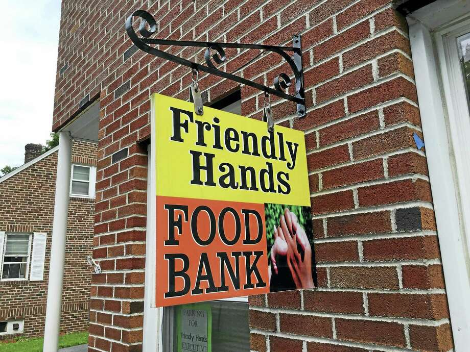 Friendly Hands Food Bank in Torrington is collecting items for its annual back to school drive. Photo: Ben Lambert / Hearst Connecticut Media