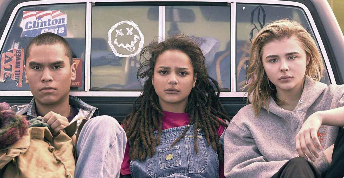 """Chloë Grace Moretz, right, stars in """"The Miseducation of Cameron Post."""""""