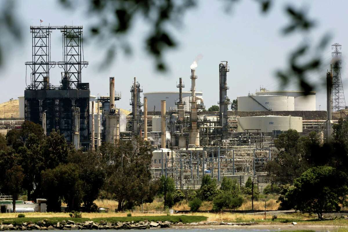 The Phillips 66 refinery in Rodeo, Calif.Several factors helped refiners rake in big profits in the second quarter.