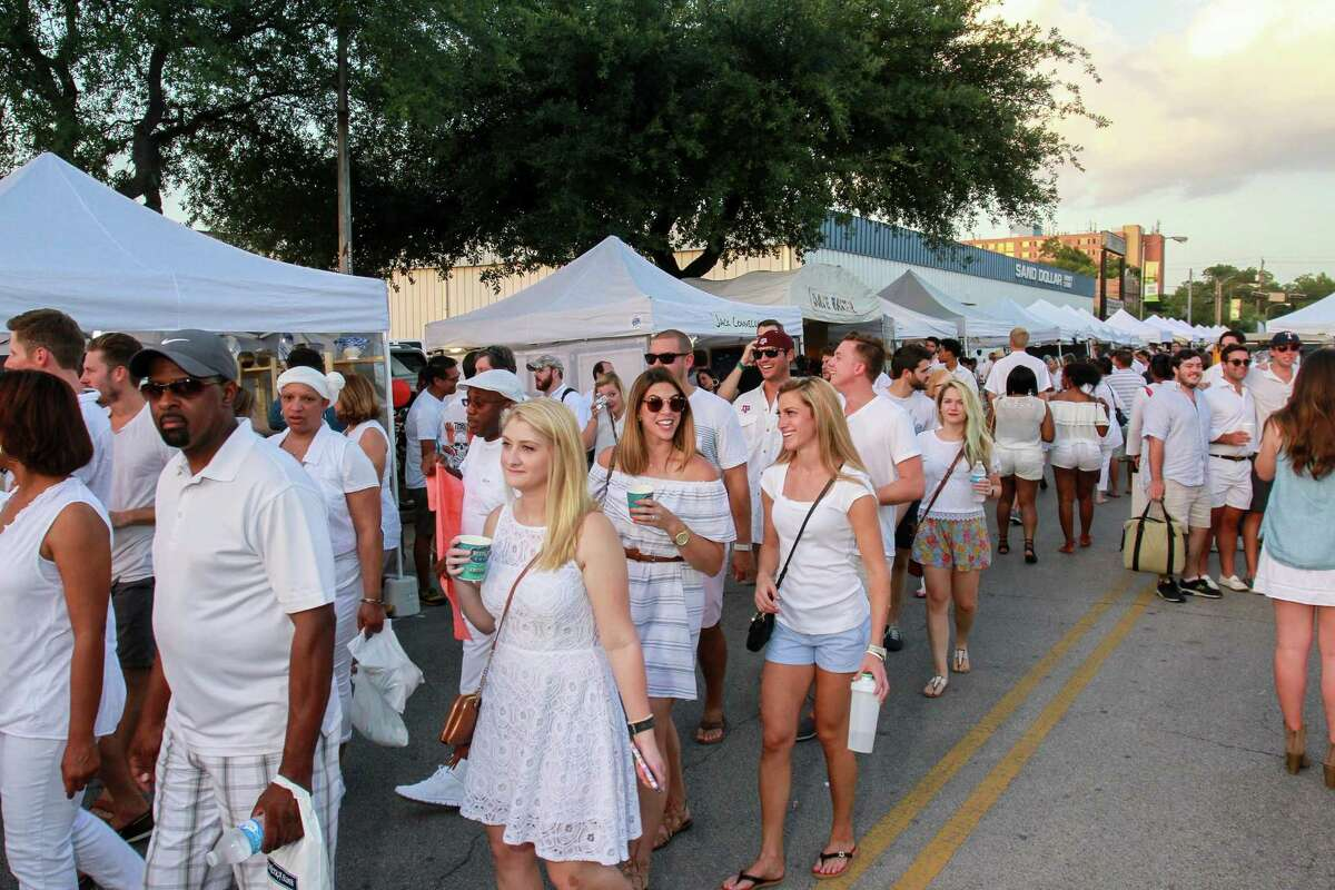The White Linen Nights in The Heights takes over 19th Street this Saturday.
