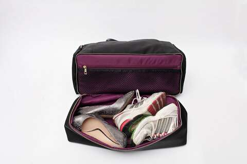 The 3-in-1 Danielle Weekender has a separate compartment for shoes and dirty 1a49de3e830ab