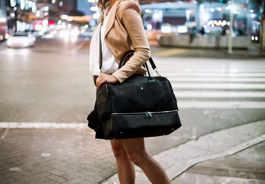 Tara & Co's new 3-in-1 Danielle Weekender is named for Danielle Kayembe, the founder and CEO of GreyFire Impact whose work focuses on female entrepreneurs and social impact. Like all of the S.F. startups' bags, it's aimed at women on the go. Photo: Tara&Co