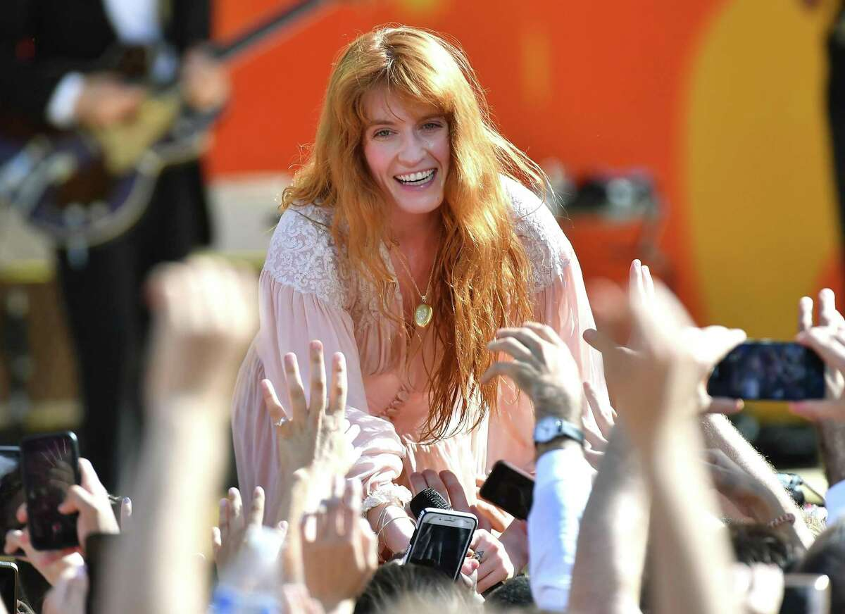 """Florence Welch of Florence + The Machine performs on ABC's """"Good Morning America"""" Summer Concert Series in Central Park on June 29."""
