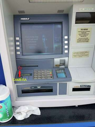 Fake faceplate on East Bay ATM may have skimmed users