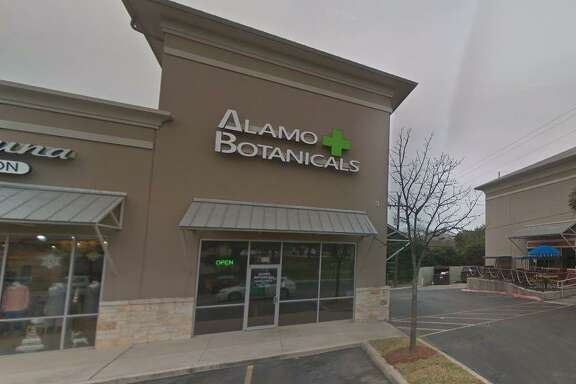 """Two owners of San Antonio-based Alamo Botanicals, which promotes wellness through the sale of hemp-based products, have alleged in a lawsuit that the CEO has """"essentially hijacked the company"""" and is using its assets to start a competing business. Pictured is Alamo Botanicals' store at 19141 Stone Oak Parkway."""