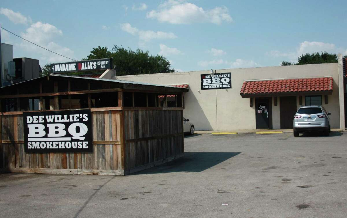Dee Willie's BBQ Smokehouse has been in business since last October at 12130 O'Connor Road, and the smokehouse was built right in the spacious parking lot.