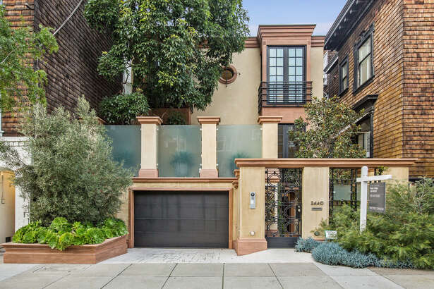 2440 Vallejo St. in Pacific Heights is a five-bedroom smart home with a Savant system available for $9.95 million.