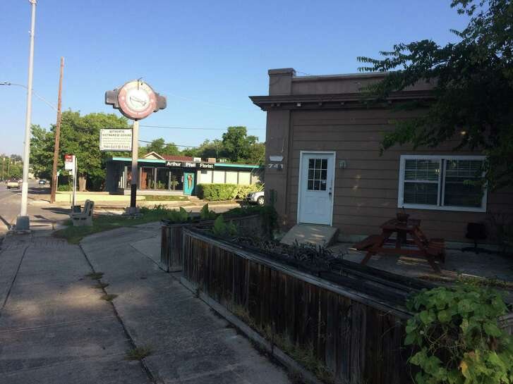 The Public Theater of San Antonio has acquired the building that was formerly Pho Sure Vietnamese restaurant, which is at the corner of Ashby and Flores, across the street from the theater.