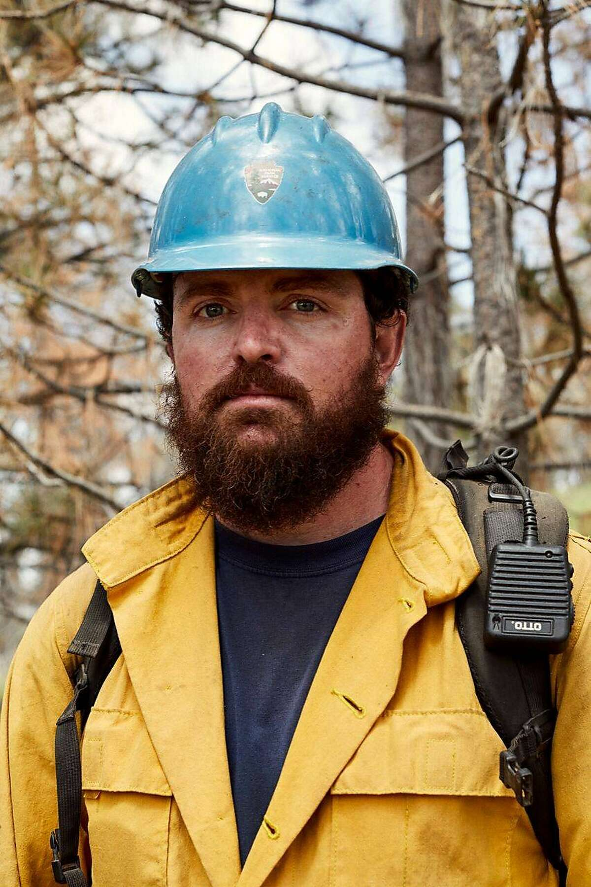 Captain Brian Hughes, a 33-year-old firefighter from Sequoia and Kings Canyon national parks, died after being hit by a falling tree on Sunday, July 29, 2018 while fighting the Ferguson Fire in Mariposa County near Yosemite.