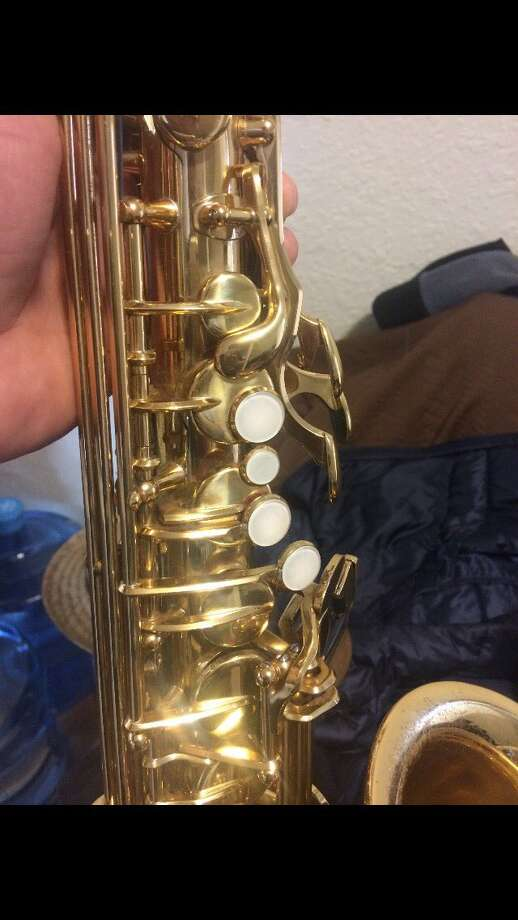 This saxophone was stolen from the main branch of the San Francisco Public Library, according to SFPD. Click through the gallery for San Francisco crime statistics. Photo: SFPD