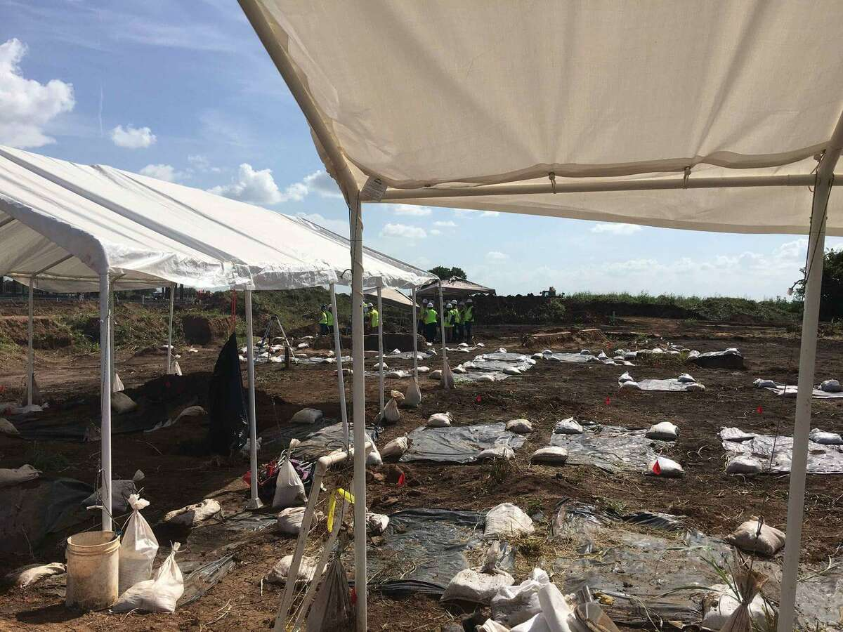 Graves were discovered near the site of a new Fort Bend ISD school in Sugar Land.