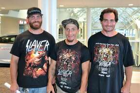 Were you Seen at the Slayer concert at Times Union Center in Albany on Aug. 1, 2018?