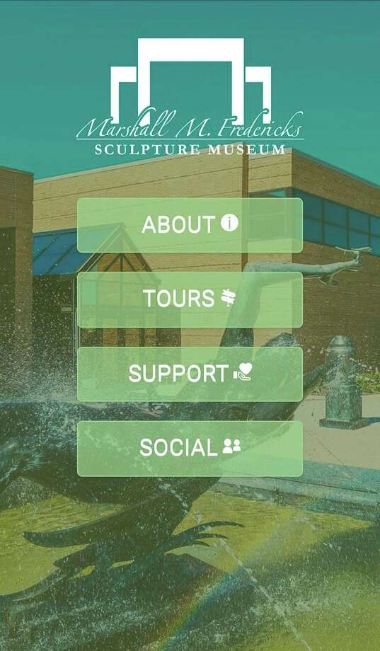 The Marshall M. Fredericks Sculpture Museum has launched a new app designed to allow visitors to tour the galleries and sculpture garden on their smartphones. The free app is available on both iOS and Android via the Apple App Store and Google Play Store. It can be downloaded in advance of a visit or in the gallery on the museum's free Wi-Fi. (photo provided)