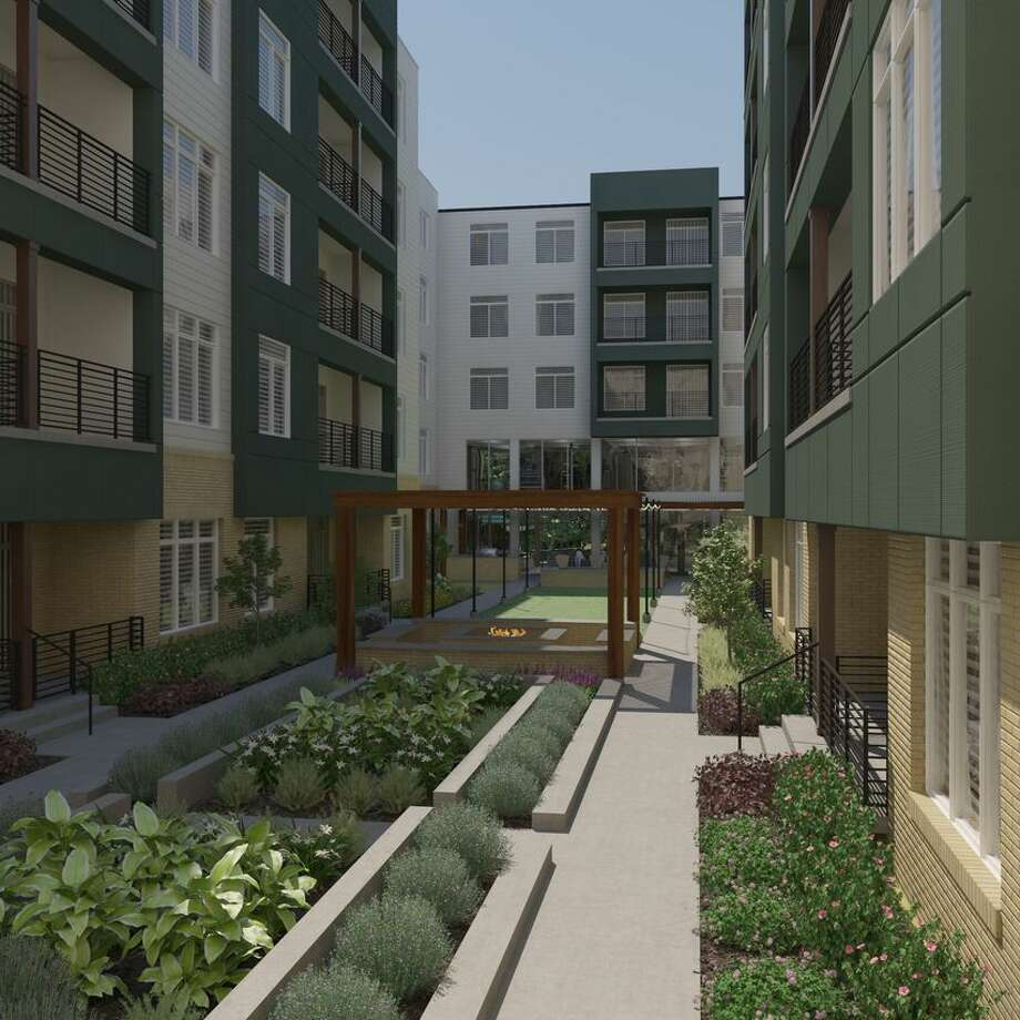 Developer S.C. Bodner is opening 220 new apartment units in a five-story complex at the Riverwalk. The apartments, at 120 9th Street in San Antonio, will be available for rent beginning in October. (Courtesy of S.C. Bodner) Photo: Courtesy Of S.C. Bodner