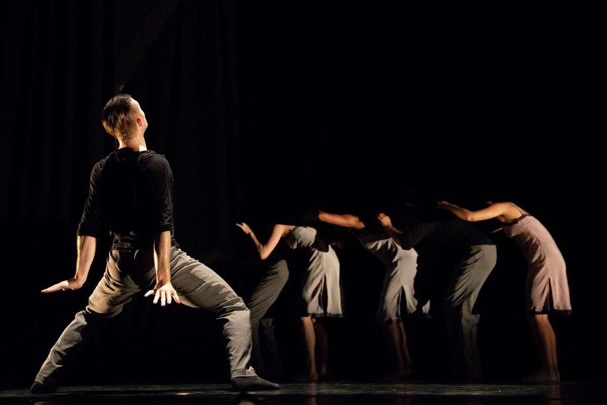 Elliot Hammans of Hubbard Street Dance Chicago in Alejandro Cerrudo's