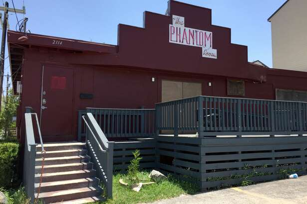 The Phantom Room is located at 2114 North St. Mary's Street.