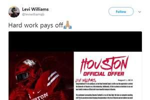 Levi Williams    Smithson Valley H.S. quarterback