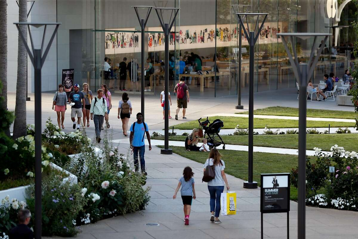 Stanford Shopping Center in Palo Alto, Calif. on Thursday, July 12, 2018.
