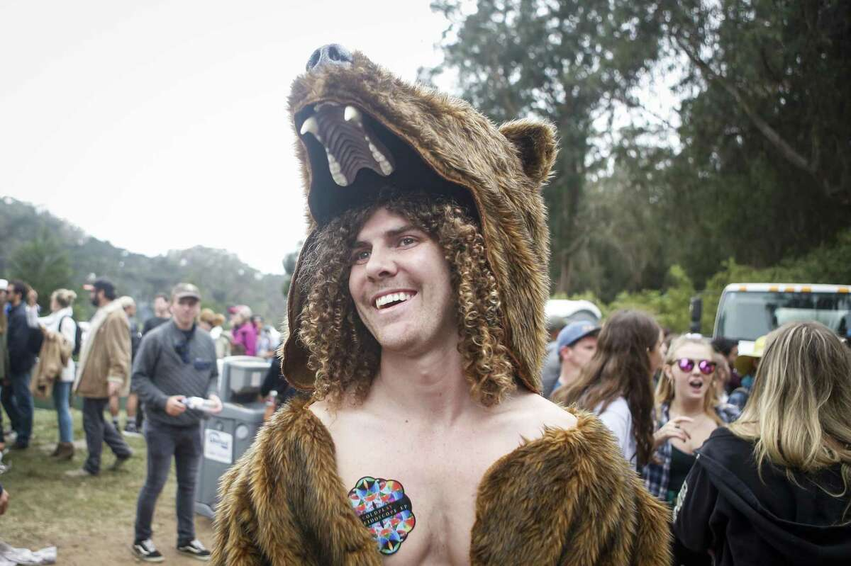 Max Thorpe stands for a portrait during the 10th annual Outside Lands Festival in Golden Gate Park in San Francisco on Saturday, August 12, 2017.