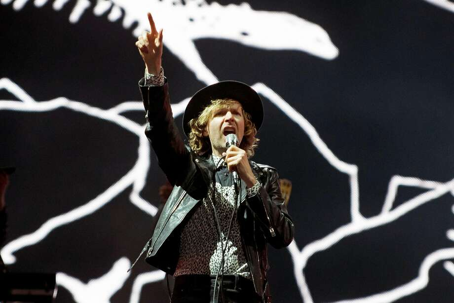 Beck's Night Running Tour will be at the Saratoga Performing Arts Center on Aug. 12, 2018. Photo: ALICE CHICHE, AFP/Getty Images