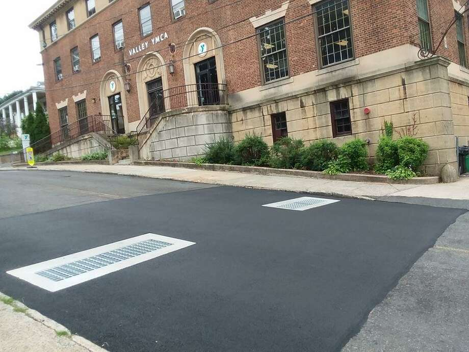 New catch basins on State Street in Ansonia Photo: Contributed Photo / Greg Martin - Ansonia City Hall