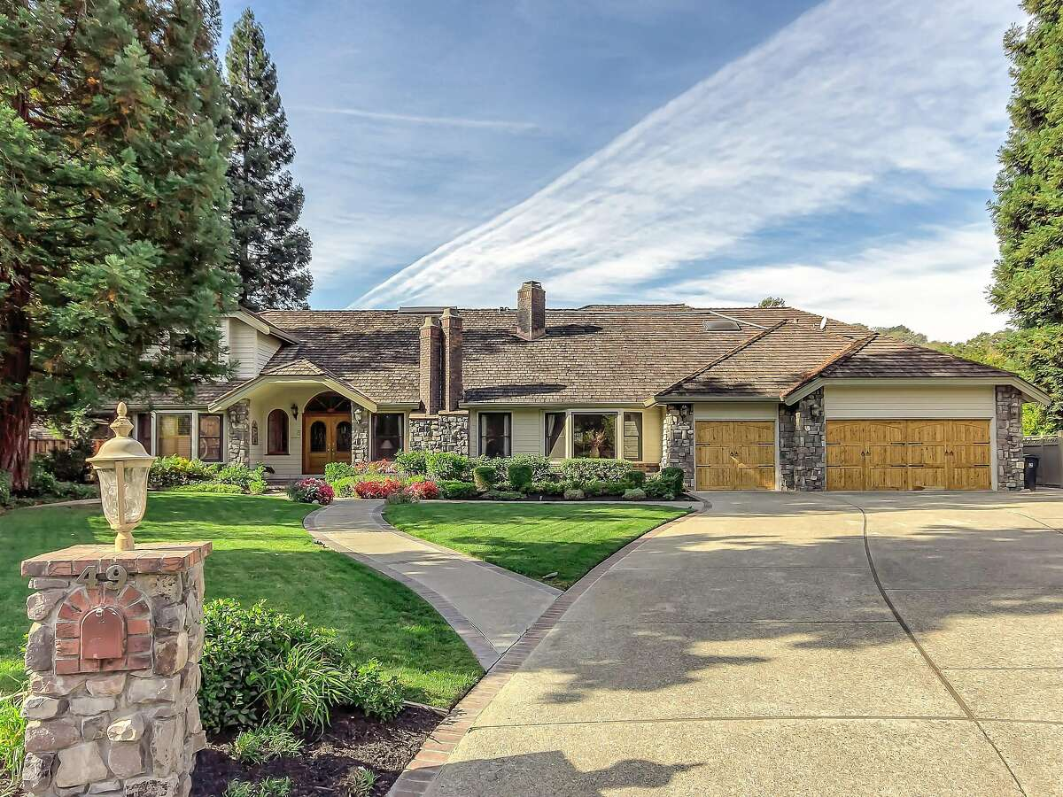 49 Red Cedar Court in Danville is a four-bedroom available for $2.475 million.�
