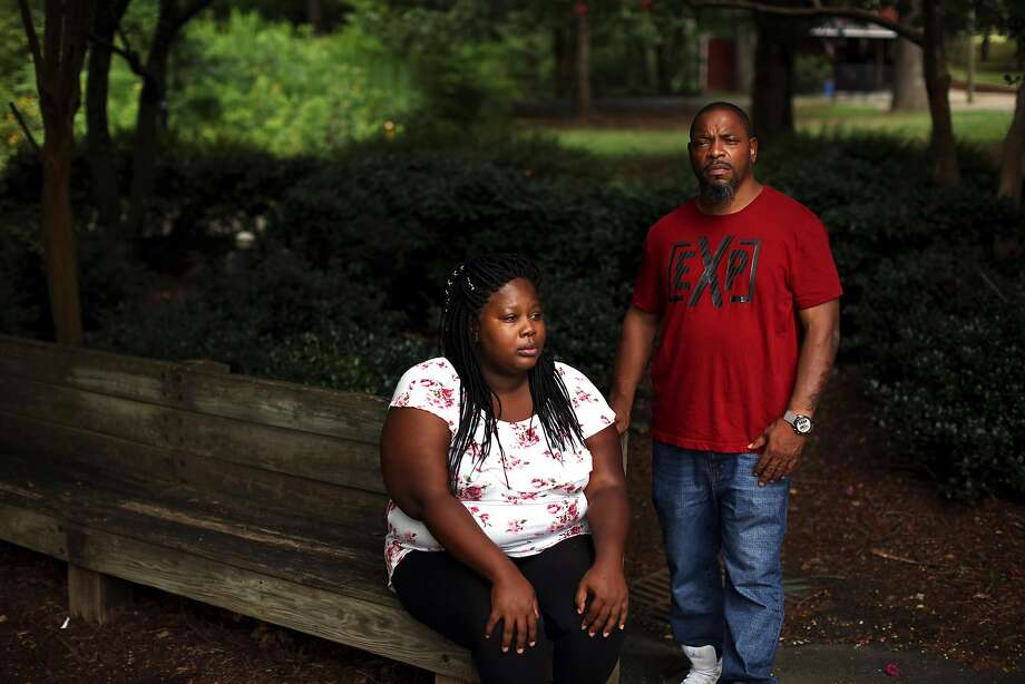 Whitney Brown (left) and Keith Sellars are among 12 people being prosecuted in North Carolina. Photo: Travis Dove / New York Times