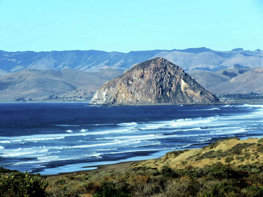 Morro Bay Fronts A Nearly Three Mile Arc Of Sand On California S Central Coast
