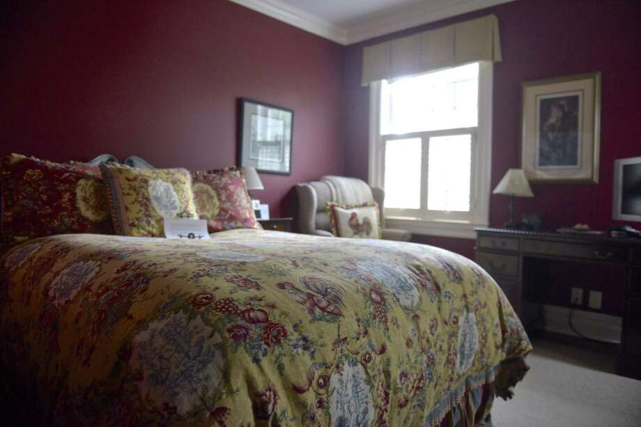 The Polo Room of the Dana-Holcombe House, owned by John and Jane Vouros,  in Newtown, Conn., Wednesday, August 1, 2018. Photo: H John Voorhees III / Hearst Connecticut Media / The News-Times