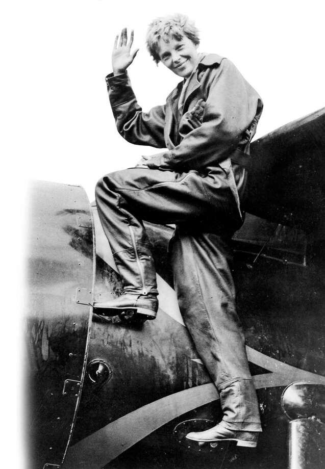 Amelia Earhart is shown in this undated file photo. Photo: File Photo / EXPRESS-NEWS FILE PHOTO