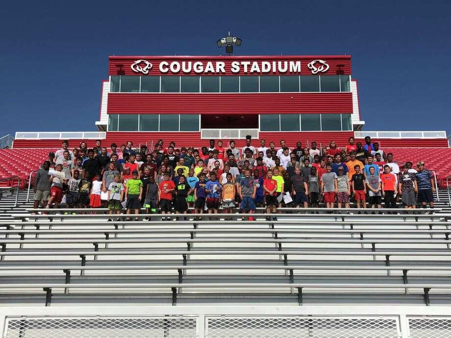 After examining several options, Crosby High School will host its graduation at Cougar Stadium on May 27. Photo: Crosby Football