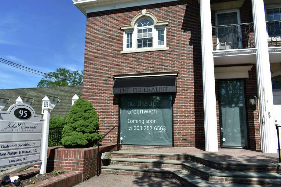 95 E. Putnam Ave. — Bulthaup's planned storefront in August 2018 at 95 E. Putnam Ave. in Greenwich, Conn., at the former home of The Federalist selling furnishings and fixtures inspired by 18th century craftsmanship, which has its offices today at 262 Harbor Dr. in Stamford. Bulthaup sells kitchen decor with a minimalist's eye on the essentials, with the Germany-based company having existing showrooms in New York City and Boston. Photo: Alexander Soule / Hearst Connecticut Media / Stamford Advocate
