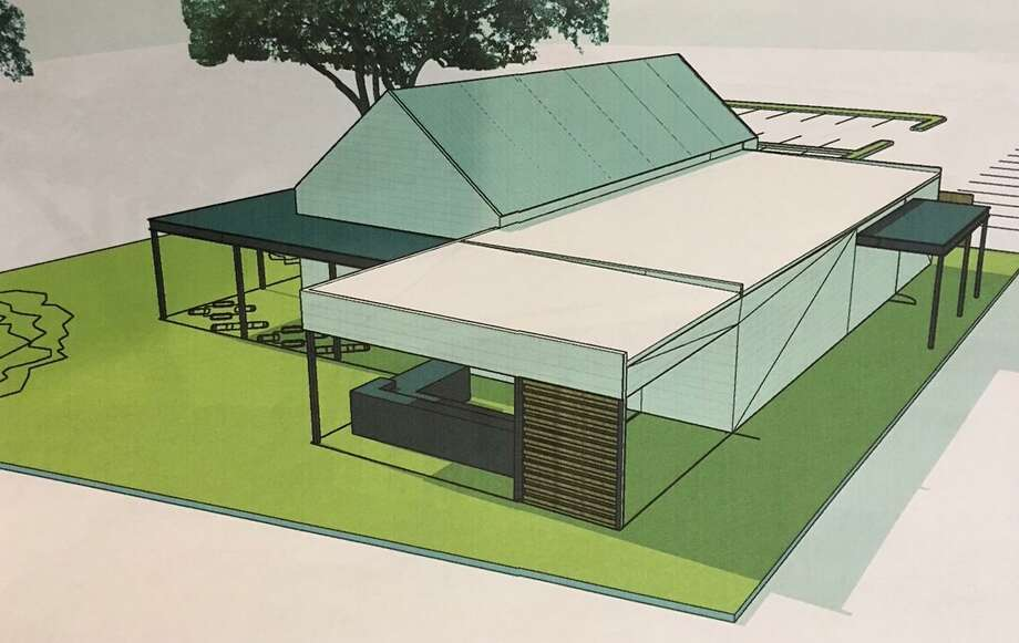 Renderings show what Fire Craft BBQ in Kingwood will look like once completed. Photo: Courtesy Of David Welch / Courtesy Of David Welch