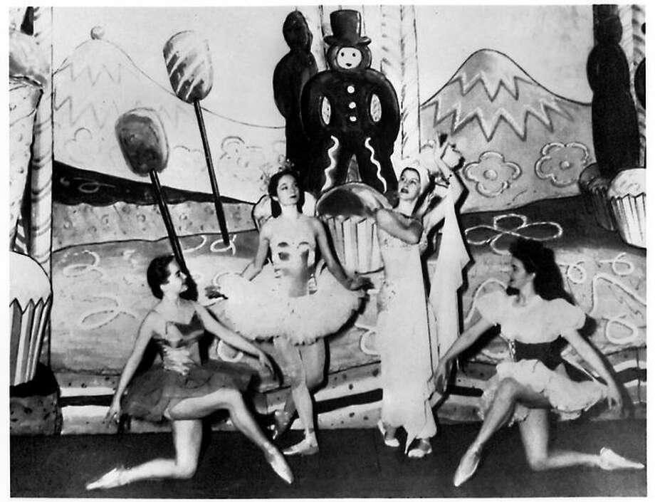 "Willem Christensen's 1944 ""Nutcracker"" at San Francisco Ballet, the first U.S. ballet company. Photo: MPDSF / ? San Francisco Ballet. Photo courtesy MPDSF"