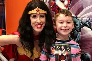 Houston Superheroes Surprise 7 Year Old Boy With Epic Party Do Over