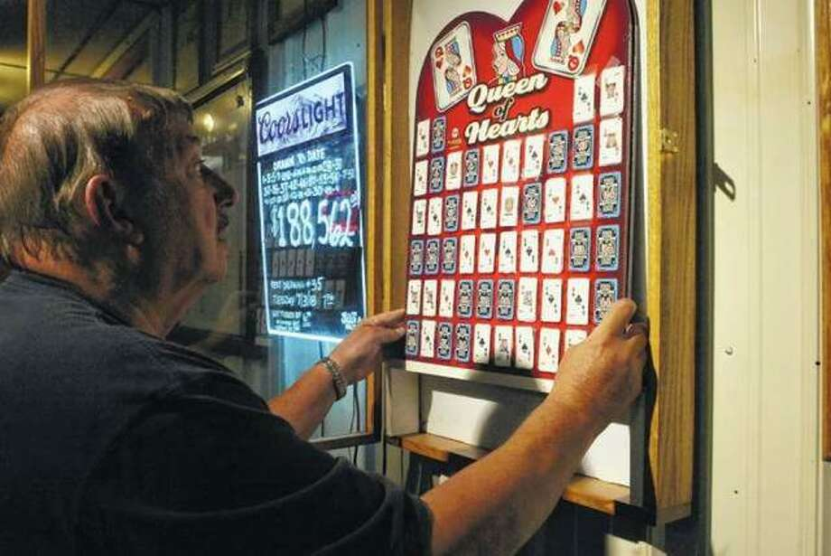 Hundreds flock to Eldred American Legion Post 1135 for the weekly Queen of Hearts raffle drawing. The Jerseyville City Council passed new restrictions on such games on Tuesday.