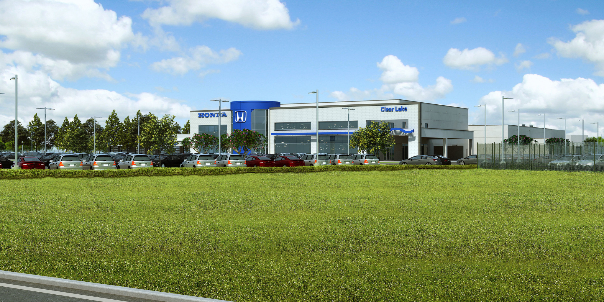 Honda dealership to relocate to new 22m facility in for Honda dealership houston tx