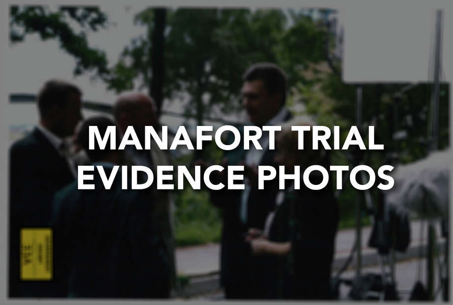 The government has submitted these photos as evidence in their case against Paul Manafort. Photo: AP