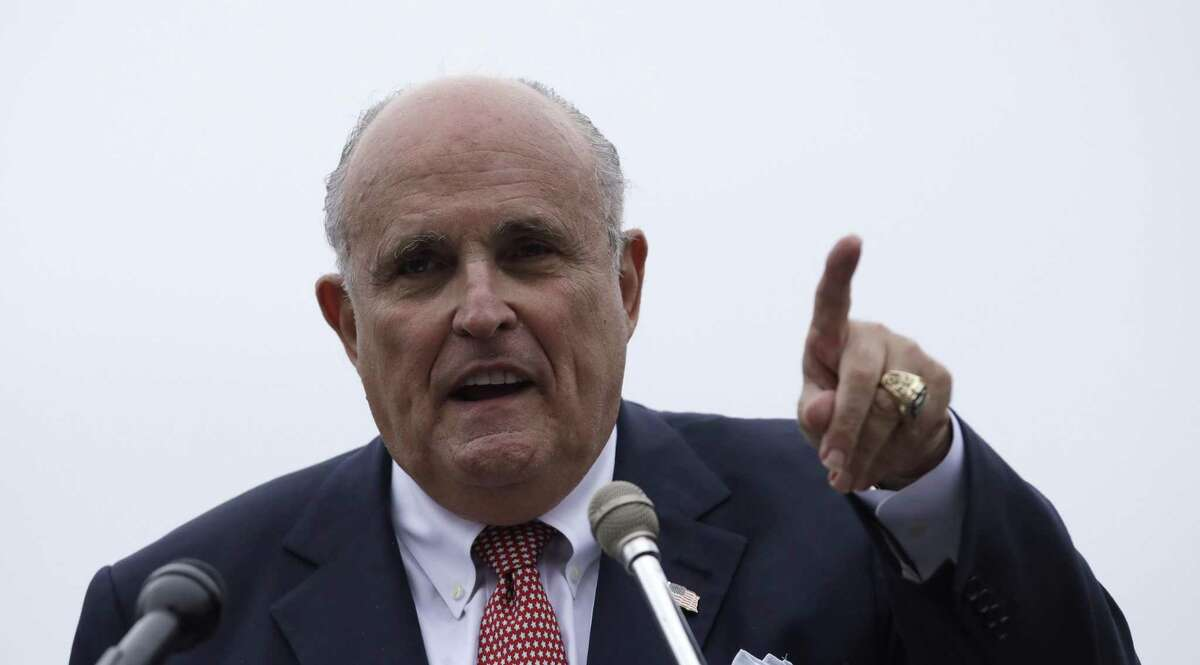 Donald Trump's lawyer, Rudy Giuliani, played down the significance of the FBI investigation.