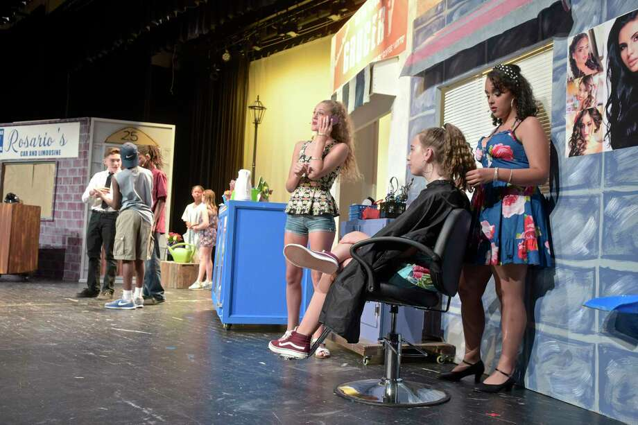 "Local youth will perform the Tony award-winning musical ""In the Heights"" at Bethel High School this weekend. The production features teens from the Danbury area and is directed by Anthony DePoto, of Inner Act Theatre, with musical direction by Erin Volpintesta, of Angel Thorne Music. Volpintesta and DePoto teamed up with the Bethel Parks and Recreation Department to create ""era Productions,"" which is putting on the show.   Thursday, August 2, 2018, in Bethel, Conn. Photo: H John Voorhees III, Hearst Connecticut Media / The News-Times"