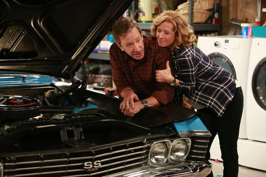 """Trump supporter Tim Allen and Nancy Travis star in """"Last Man Standing,"""" which has moved to Fox. Photo: Fox Broadcasting Co."""