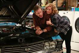 """From left, Tim Allen and Nancy Travis in the show, """"Last Man Standing,"""" premiering this fall on Fox. (Fox Broadcasting Co.)"""