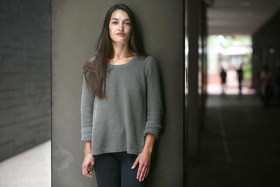 Stanford graduate Sinead Talley says Stanford's light punishment of her rapist feels like a second assault. Photo: Liz Hafalia / The Chronicle