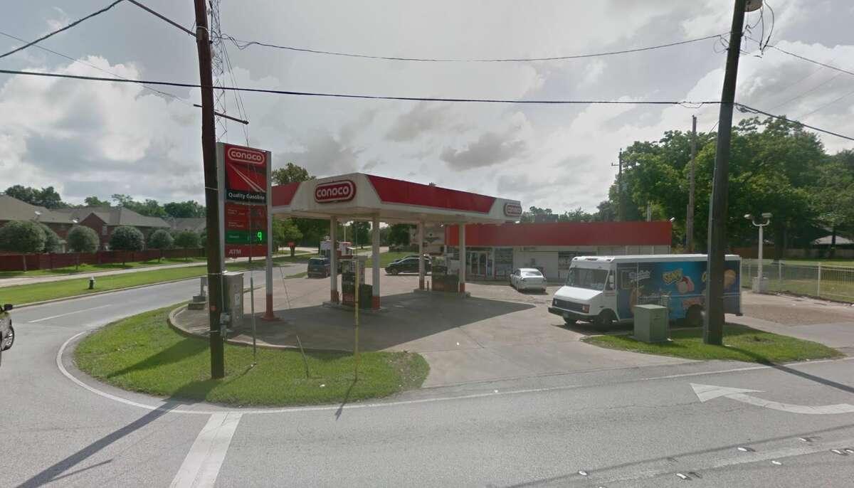 Google Street View image of the 8300 block of Windfern.
