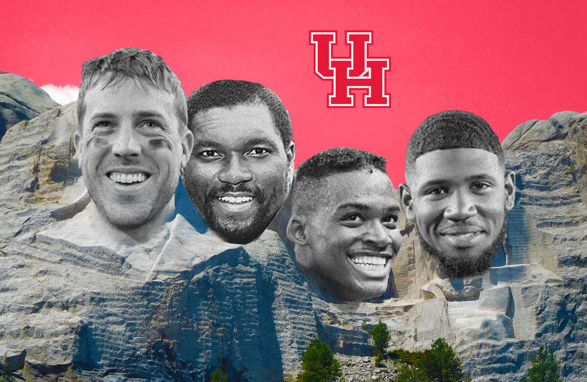 Case Keenum, Wilson Whitley, Andre Ware and Ed Oliver make strong cases for inclusion on the Mount Rushmore of University of Houston football.