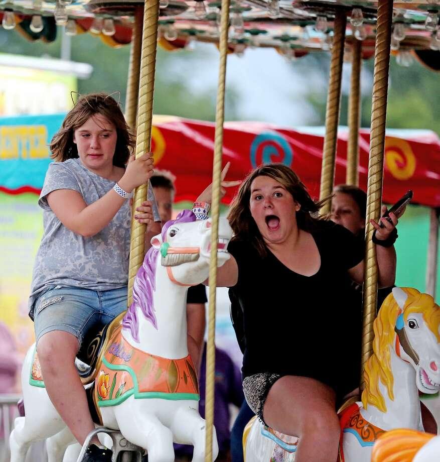Huron Community Fair - Thursday Photo: Paul P. Adams/Huron Daily Tribune