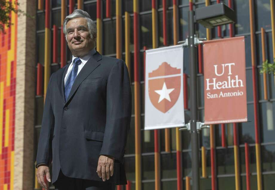 Francisco Cigarroa, former UT System chancellor and current UT Health San Antonio president, poses Thursday morning, July, 12, 2018 for a portrait on the UT Health San Antonio Medical Center campus. Photo: William Luther, Staff Photographer / Staff Photographer / © 2018 San Antonio Express-News